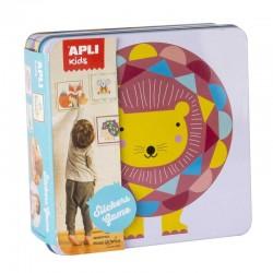 apli kids sticker spel leeuw