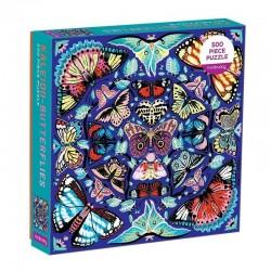 mudpuppy puzzel kaleido butterflies