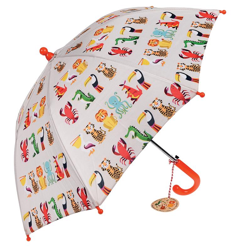 Paraplu Colourful Creatures | Rex London -