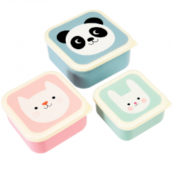 Snackdoosjes set panda | Rex London -
