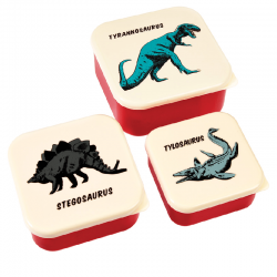 Snackdoosjes set dino | Rex London -