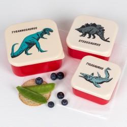 Snackdoosjes set dino | Rex London -