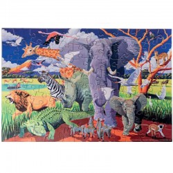 Puzzel & poster Wild Safari | Crocodile Creek -