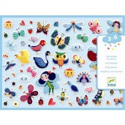 Puffy Stickers Little Wings | Djeco -