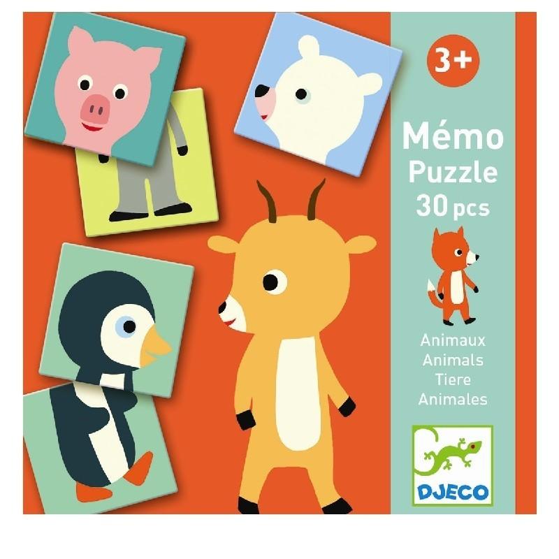 Memo Animo-puzzle | Djeco -