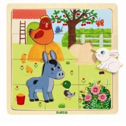 Puzzel farm | Djeco -