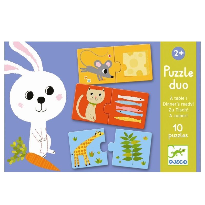 Duo puzzel Aan Tafel! | Djeco -