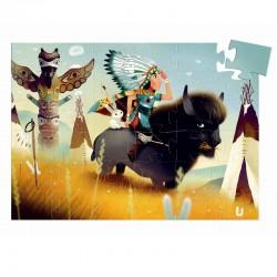 Puzzel indiaan Tatanka | Djeco -