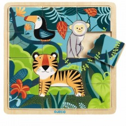 Puzzel Jungle | Djeco -