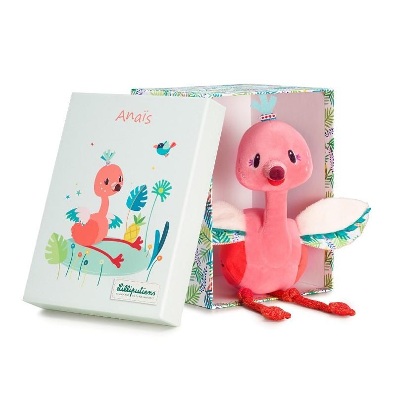 Anais knuffel flamingo | Lilliputiens -