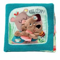 Kusjesboek César de beer | Lilliputiens -