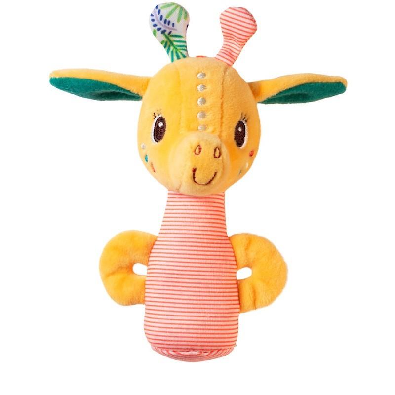 Mini rammelaar Zia giraf | Lilliputiens -